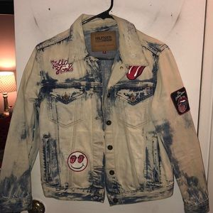 Sale!!! Limited Edition Rolling Stones Jean Jacket